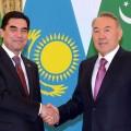 Президент Туркменистана прибыл вКазахстан сгосвизитом