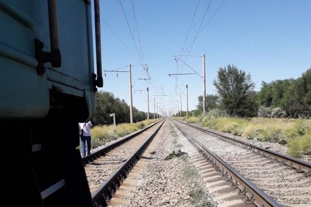 Грузовой состав немог стать причиной аварии поезда Астана-Алматы