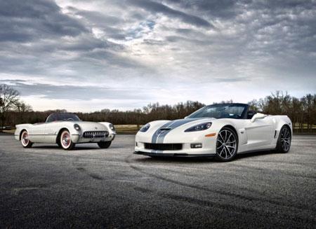 Chevrolet Corvette отметил 60-летие