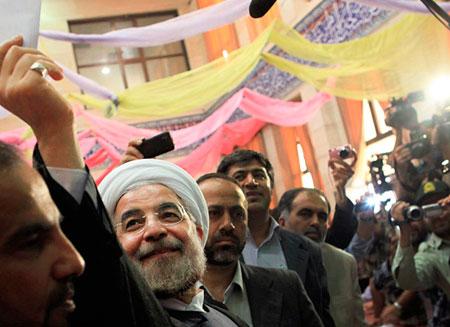 Президентом Ирана стал Хасан Рухани
