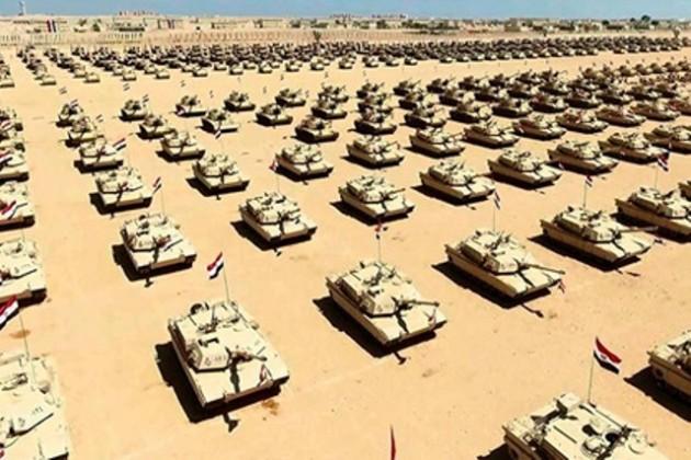 ВЕгипте открыли крупнейшую военную базу
