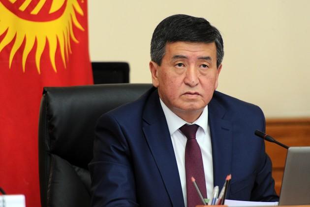 Навыборах вКыргызстане лидирует Сооронбай Жээнбеков