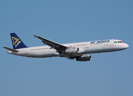 Эйр Астана получила первый собственный Airbus A321