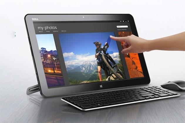 Dell объединила десктоп и планшет