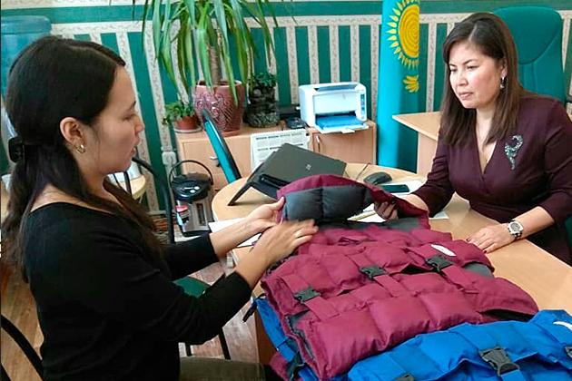 Казахстанский ответ дефициту одежды для особенных детей