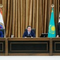 Аскар Мамин представил нового акима Алматы
