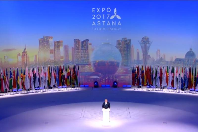 Путин планирует осмотреть павильон Российской Федерации  на«Экспо-2017»