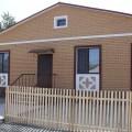 Пострадавшим от наводнения построили первые дома