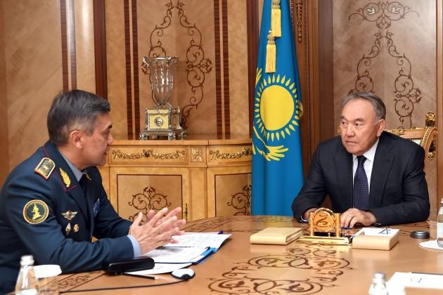 Нурлан Ермекбаев доложил об оптимизации структуры Минобороны