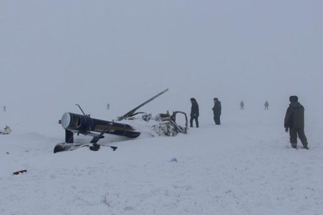 Дело о крушении вертолета принял к производству спецпрокурор