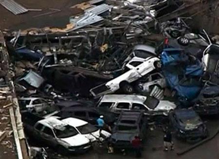 В Оклахоме торнадо унес жизни более 50 человек
