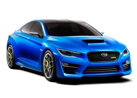 Subaru показала возможный облик нового седана WRX