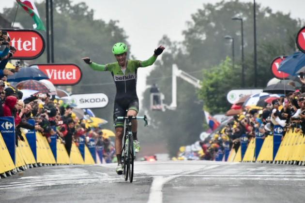Голландец Ларс Боом выиграл пятый этап «Тур де Франс»
