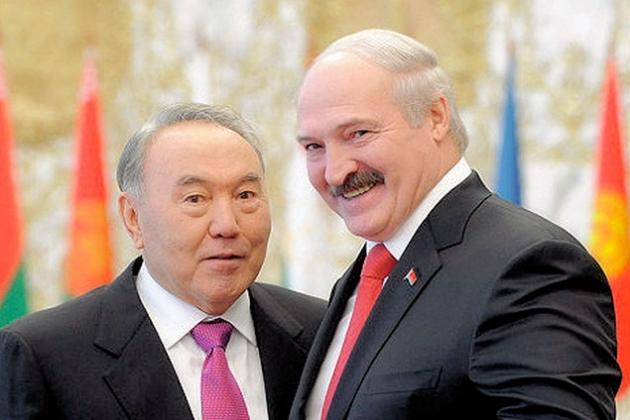 Нурсултан Назарбаев встретился с Александром Лукашенко