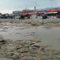 ВАлматы подтоплена территория рынка Жибек Жолы