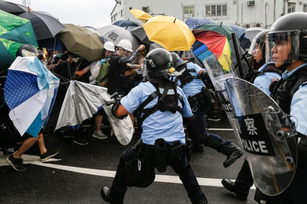 Экономика Гонконга потеряла около $356 млн из-за протестов