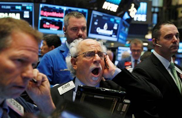 Американский фондовый рынок инефть обвалились