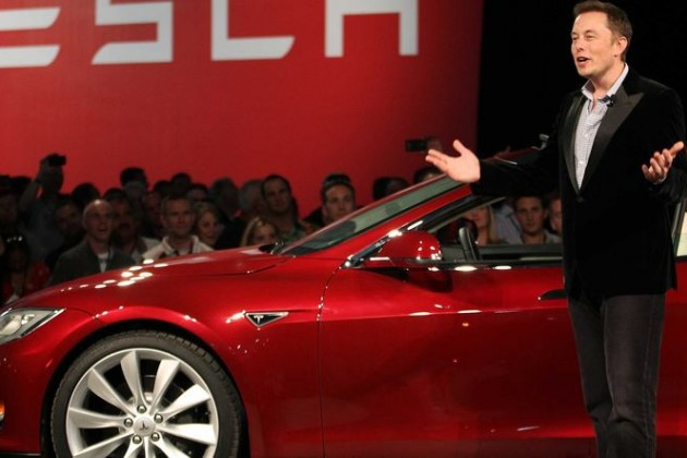 Котировки Tesla упали на13%