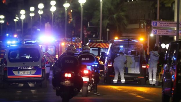 Задержаны семеро подозреваемых в причастности к теракту в Ницце