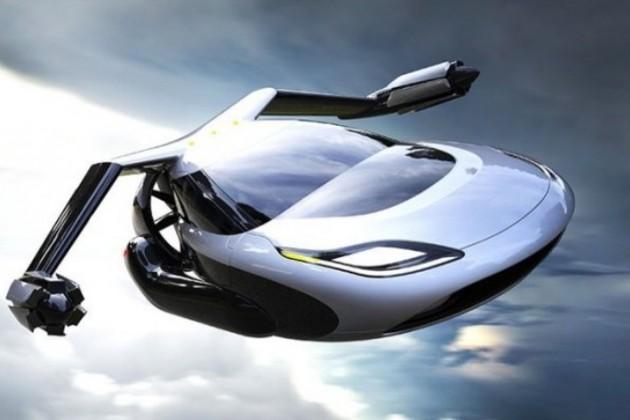 Geely разработает летающий автомобиль