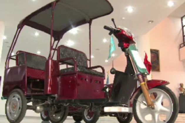 На юге РК создали первый в стране электромобиль