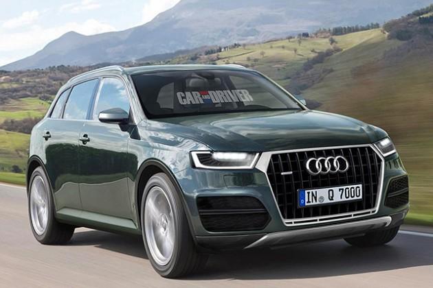 2015 Audi Q7 проходит испытания