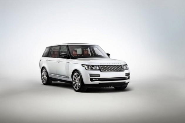 Land Rover удлинил Range Rover