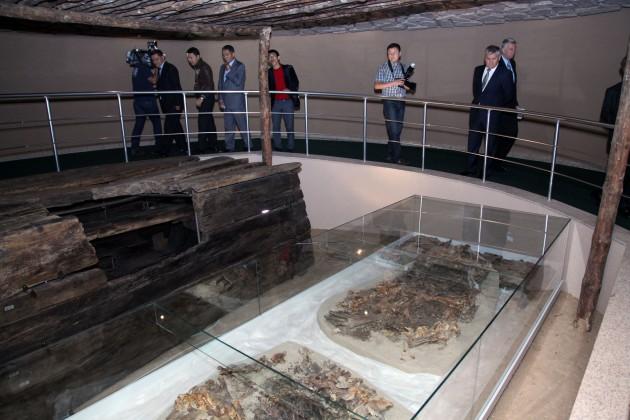 В Назарбаев центре открылся зал Курган Сакского Вождя