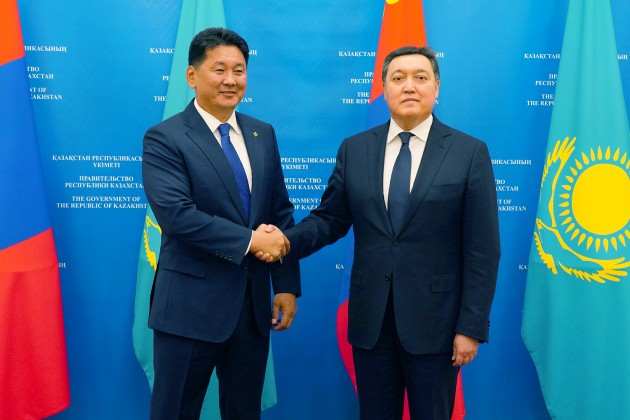 Казахстан и Монголия определили направления сотрудничества