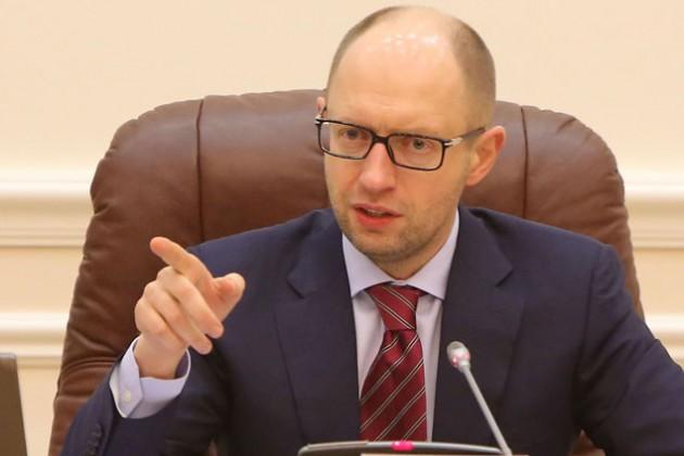 Арсений Яценюк пригрозил Раде отставкой правительства
