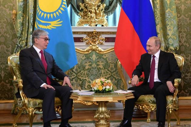 Касым-Жомарт Токаев провел переговоры с Владимиром Путиным