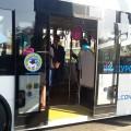 Подвум туристическим маршрутам Алматы запущен электроавтобус