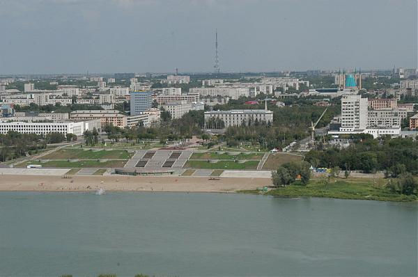 Президент РК прибыл в Павлодарскую область