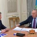 Ахметжан Есимов отчитался перед Президентом