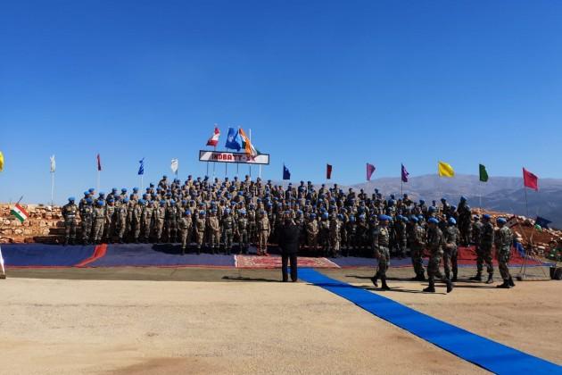 Казахстанские миротворцы прибыли вЛиван