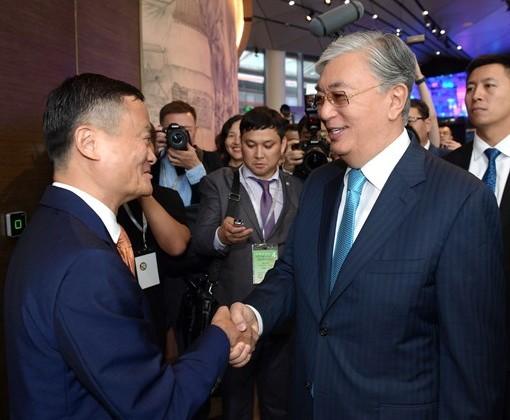 Джек Ма подтвердил готовность делиться опытом с казахстанцами