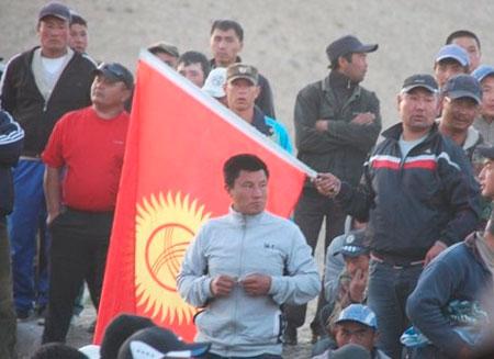На севере Кыргызстана введено чрезвычайное положение