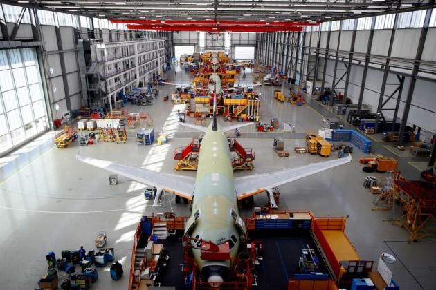 Airbus может оснастить гибридным двигателем новую модель самолета