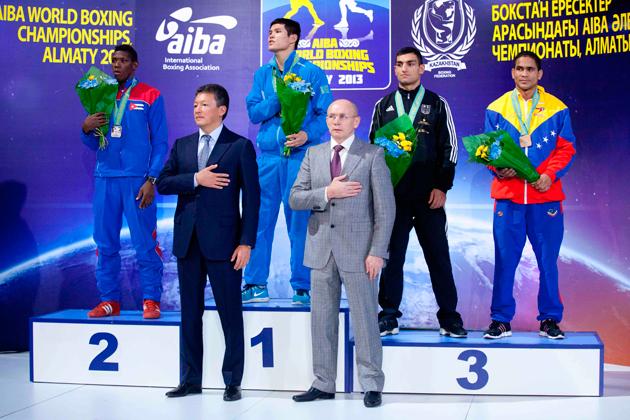 Казахстанские боксеры установили новое достижение