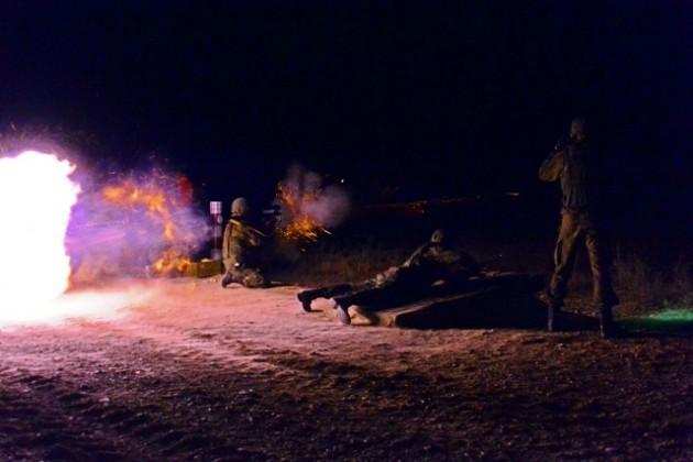 Артиллеристы Казахстана лидируют в ночных стрельбах