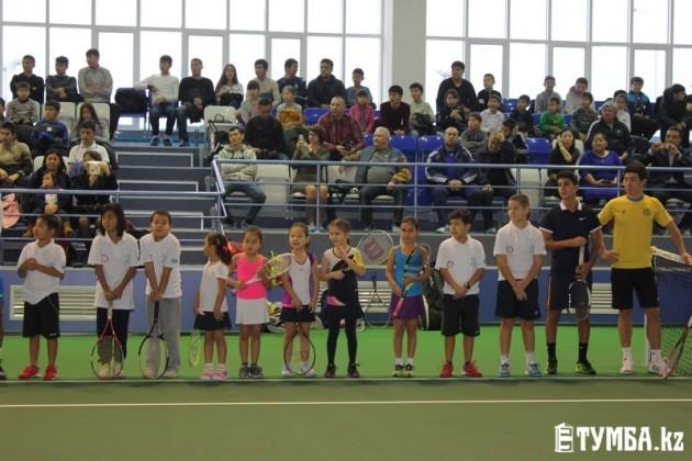 В городах Актау и Костанай открылись теннисные центры