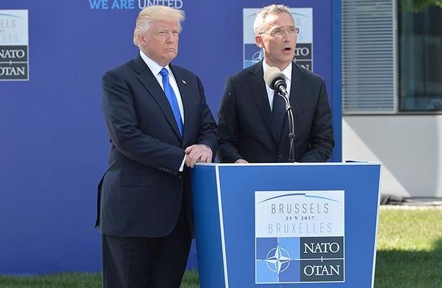 Лидер США раскритиковал Германию занизкие расходы наоборону