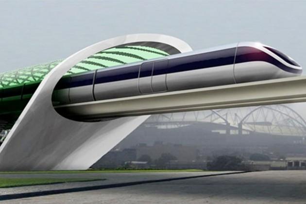 Тестовый трек сверхзвукового поезда запустят в 2016 году