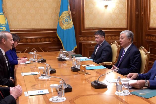 Касым-Жомарт Токаев принял председателя совета директоров «Шеврон»