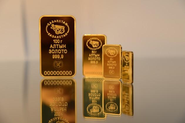 Данияр Акишев: Подделать золотые слитки невозможно