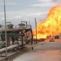 Три человека пострадали при взрыве на месторождении в Мангистау
