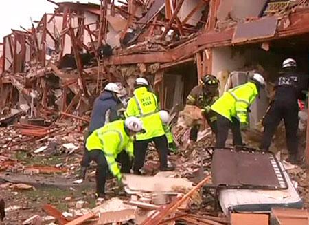 В $100 млн. оценили ущерб от взрыва в Техасе