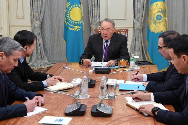 Нурсултан Назарбаев подвел итоги визита вСША