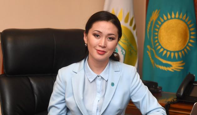 Жулдыз Омарбекова стала вице-министром общественного развития