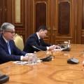 Касым-Жомарт Токаев встретился с помощником Президента России